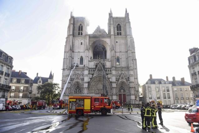 Verdachte van brand in kathedraal Nantes opnieuw opgepakt