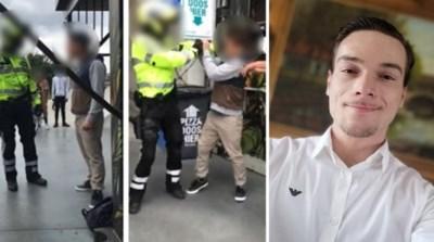 """Man die rake klappen kreeg van politieman na uit de hand gelopen discussie over mondmasker: """"Die agent moet ontslagen worden"""""""