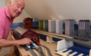 Londenbrug, MAS, Antwerpen-Centraal … Hans bouwt Antwerpse iconische gebouwen op zijn treintafel