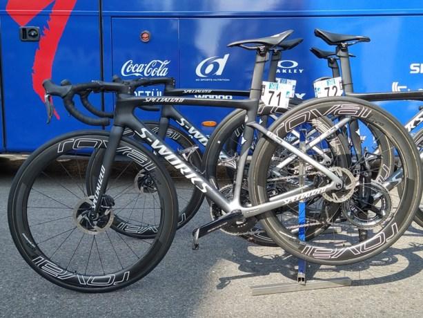 Remco Evenepoel met nieuw geheim wapen aan de start: de nieuwe Specialized-fiets