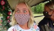 Blauwe billen en hoogtevrees voor Julie Vermeire tijdens weekendje weg