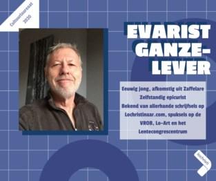 Kies zelf de publieksprijs voor jouw cultuurlaureaat: Evarist Ganzelever