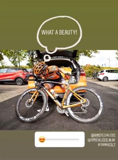 """De nieuwe fiets van Remco Evenepoel: licht en duur, maar """"wat een beest!"""""""