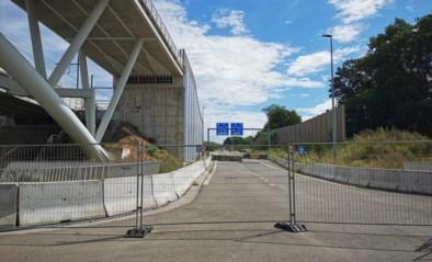 Nieuwe op- en afritten ring aan Woluwelaan pas open eind 2022
