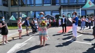 DVC Heilig Hart wuift na 41 jaar personeelsdirecteur uit in koninklijke coronastijl