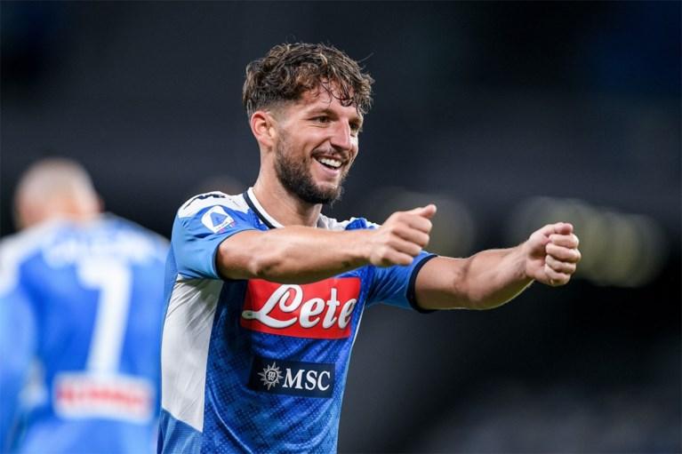 """Dries Mertens legt uit waarom hij een tijdje """"altijd maar boos"""" was bij Napoli"""