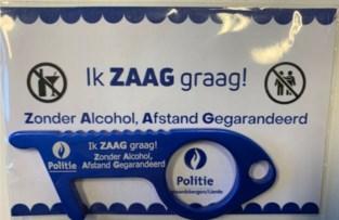 Politiezone Geraardsbergen/Lierde 'zaagt graag'