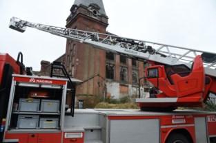 Brandweer redt poes uit dakgoot