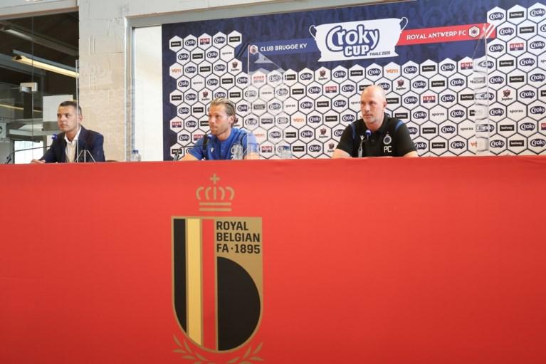 """Philippe Clement kijkt (ondanks spelersplaagje) uit naar bekerfinale tegen Antwerp: """"Mijn groep staat verder dan enkele maanden geleden"""""""