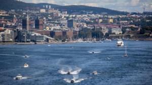 Noorwegen en Slovenië kleuren oranje voor vertrekkende reizigers