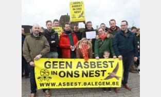 Zottegem zal zich blijven verzetten tegen asbeststort in Balegem