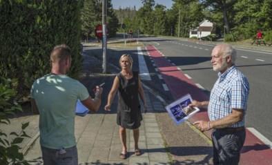 Na achttien jaar aandringen en een petitie van buurtbewoners nu beterschap op komst: gevaarlijke steenweg wordt aangepast