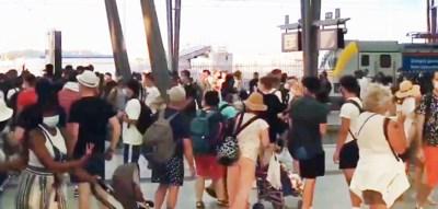 """Het liep helemaal mis in Oostende, maar NMBS reageert: """"Hebben ons noodplan uitgevoerd"""""""
