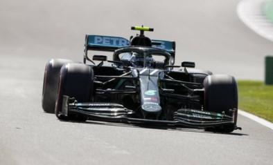 Valtteri Bottas sneller dan Lewis Hamilton tijdens laatste oefensessie Britse GP