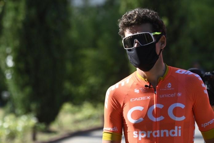 """Hitte dringt corona naar het achterplan bij Belgische renners in Strade Bianche : """"Als je twee bidons mist, ben je verloren"""""""