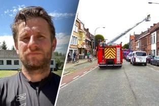 """Ex-Club Brugge speler kan erger voorkomen bij brand: """"Zonder veel na te denken, ben ik naar binnen gelopen"""""""