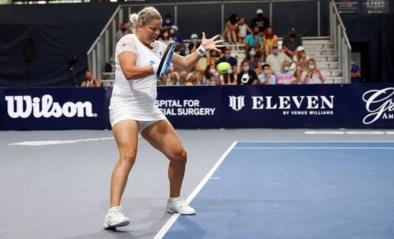 Clijsters niet meer in actie in World Team Tennis (maar wint toernooi wel met haar ploeg)