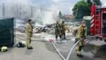 Afvalcontainer vat vuur