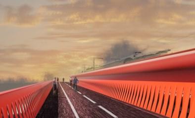 Bouw pijlers eerste fietsbrug over ring van start: twee maanden hinder voor verkeer
