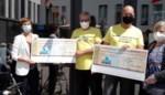 Ronan en Stefan wandelen 2.800 euro bij mekaar voor woon-zorgcentra