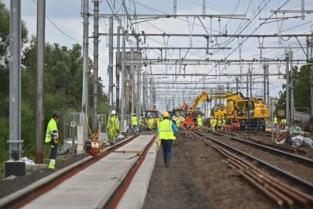 Grote werkzaamheden aan spoor gestart (en al ietsje uitgelopen)