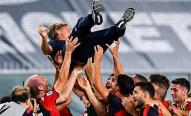 Genoa redt zich op slotspeeldag, Lecce degradeert uit Serie A