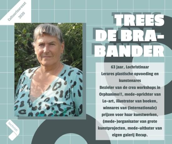 Kies zelf de publieksprijs voor jouw cultuurlaureaat: Trees De Brabander