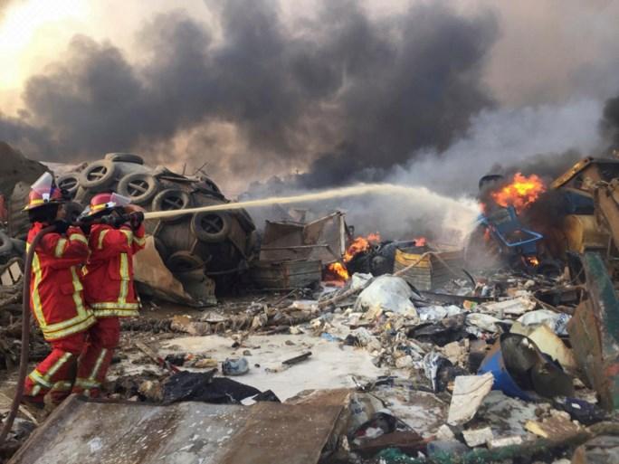 3.700 gewonden en minstens 73 doden bij enorme explosie in Beiroet, ook Belgische ambassade beschadigd
