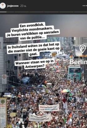 Josje Huisman roept op tot revolutie in Antwerpen