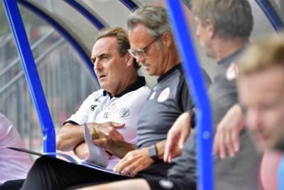 Coach Yves Vanderhaeghe acht Kortrijk klaar ondanks miskleun tegen Deinze