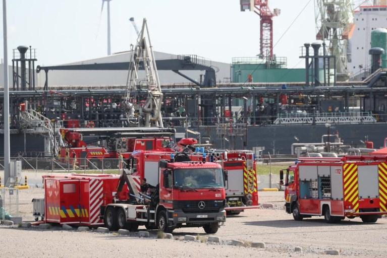 Brand aan boord van lpg-tanker in Antwerpse haven