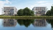 "Twee nieuwe woonblokken langs kanaal: ""Even mooi dan in Kortrijk, maar pak betaalbaarder"""