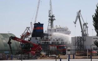 Brand op lpg-tanker in Antwerpse haven onder controle