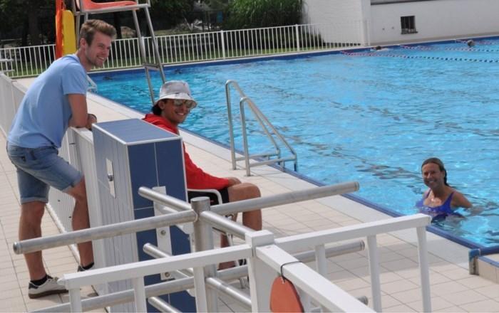 Pech voor wie frisse duik wil nemen: dit openluchtzwembad is al volgeboekt tot en met zondag