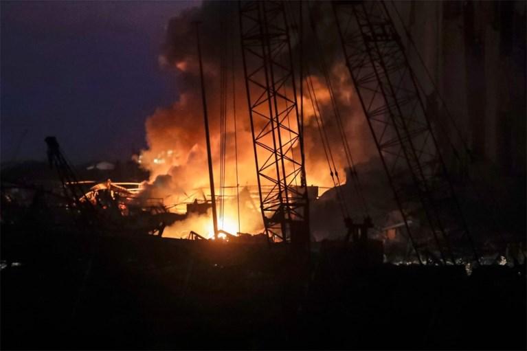 Waanzinnige explosie in Beiroet: minstens 4.000 gewonden en 113 doden, onder wie ook één Belg