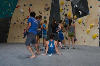 """Nationaal klimteam trainde in Black Box Boulder: """"Drie dagen gebouwd voor beste klimmers van ons land"""""""