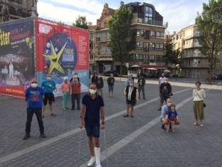 """Door corona geen Paulusfeesten dit jaar, maar organisatoren plaatsen 'baken' op plein: """"Dit moet een bedevaartsplaats worden"""""""