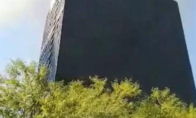 Brand in WTC-toren aan Brussels Noordstation: omgeving afgesloten voor verkeer