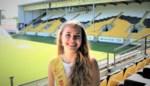 Yoni is al bekend gezicht voor fans van Sporting Lokeren, nu rekent ze op hen om Miss België te kunnen worden