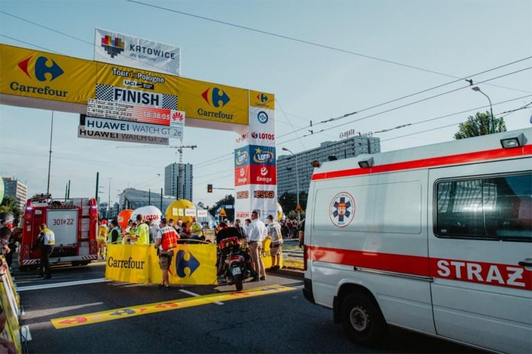 """Fabio Jakobsen """"brak alle beenderen in zijn gezicht"""", maar is buiten levensgevaar: """"Hij heeft operatie doorstaan"""""""