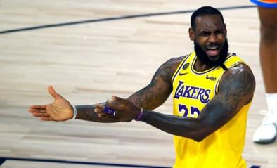 Lakers kunnen tegen Houston niet rekenen op geblesseerde LeBron James