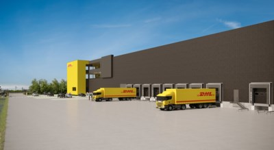 DHL bouwt nieuwe campus in Lot