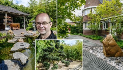Gebeten door het Oosten: Sven en Siegfried kochten een traditionele 'Vlaamse' tuin, maar maakten er dit van