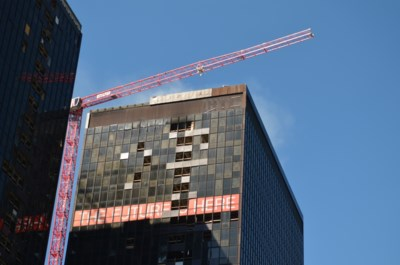 Hulp van meerdere brandweerzones bij brand aan WTC-toren