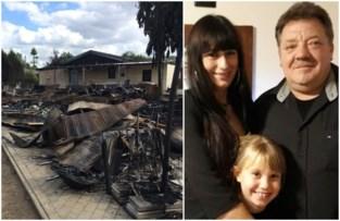 """Solidariteitsacties voor gezin dat alles kwijtgeraakt in brand komen op gang: """"Ik heb de hele week geweend"""""""