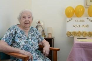 """Eeuwige optimiste Clara viert honderdste verjaardag: """"Na de oorlog heb ik nu wellicht ook de coronacrisis overleefd"""""""