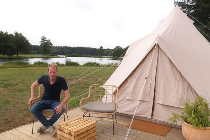 Naast luxueus dineren in sterrenzaak, kan je hier nu ook luxueus kamperen