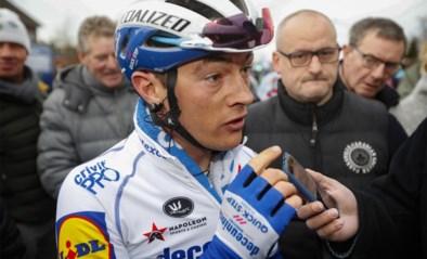 """Geen operatie voor Yves Lampaert: """"Binnen maand terug koersen"""""""