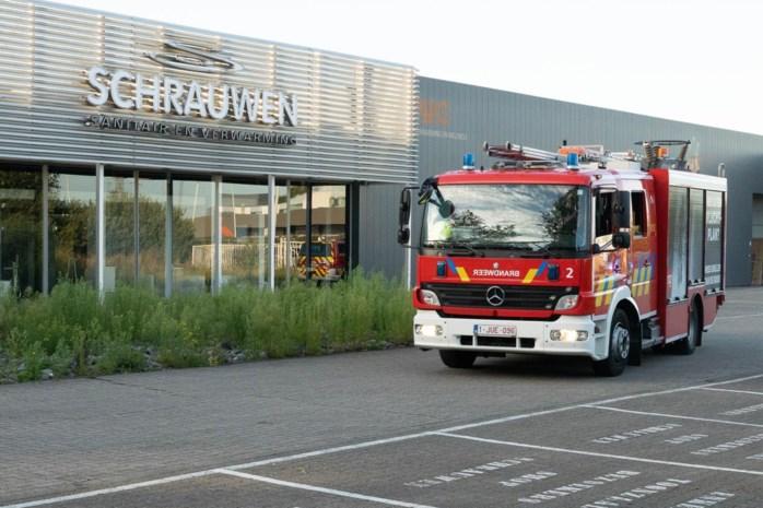 Brandalarm in sanitairzaak