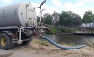 "Gouverneur stelt captatieverbod in op alle waterlopen: ""Wees spaarzaam met water"""